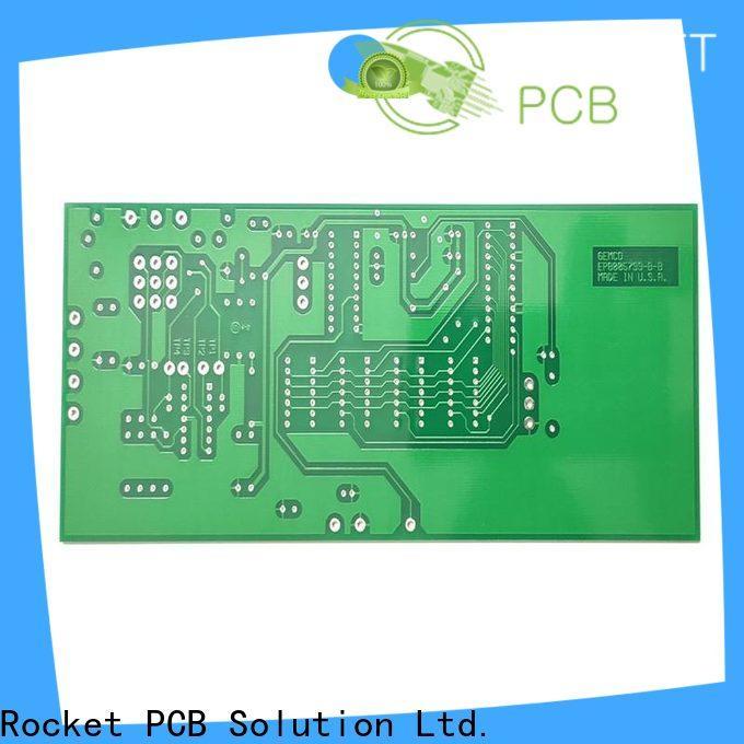 Rocket PCB custom single sided circuit board turn around consumer security