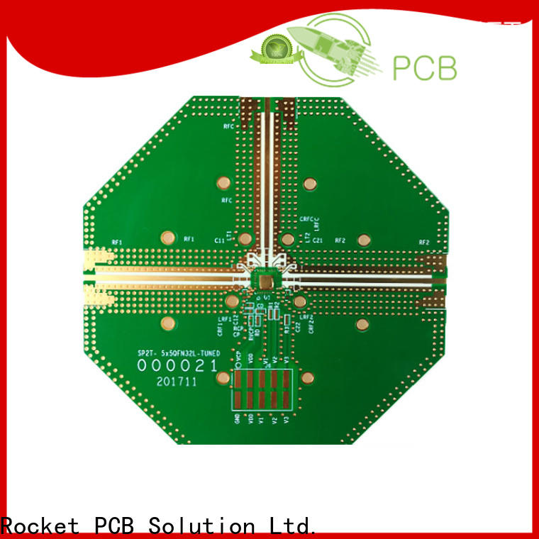 Rocket PCB mixed rogers pcb material for electronics
