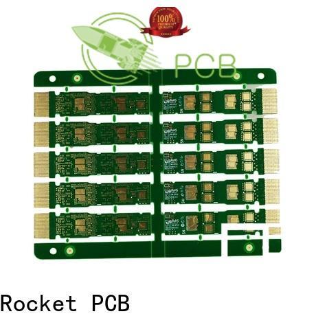 Rocket PCB optional gold column pcb for wholesale