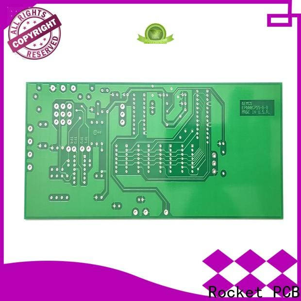 Rocket PCB double sided printed circuit board turn around consumer security