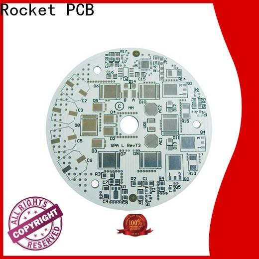 Rocket PCB custom aluminum printed circuit boards light-weight for digital device