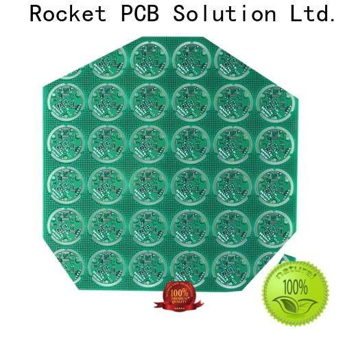 Rocket PCB custom single sided printed circuit board volume electronics