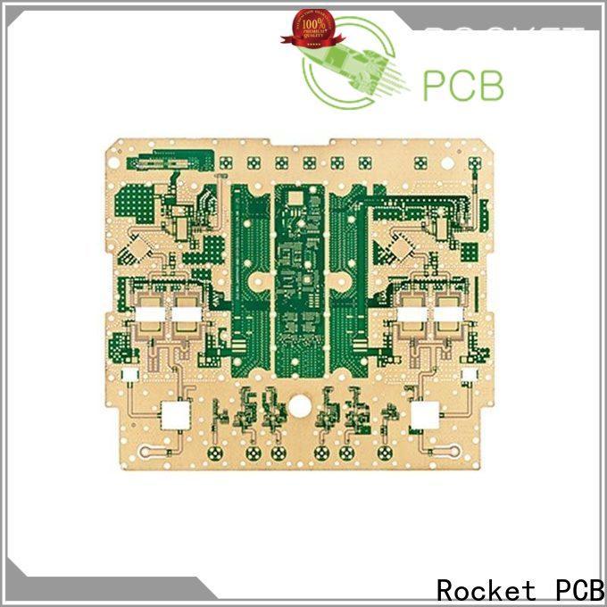 Rocket PCB high speed microwave circuit board bulk production instrumentation