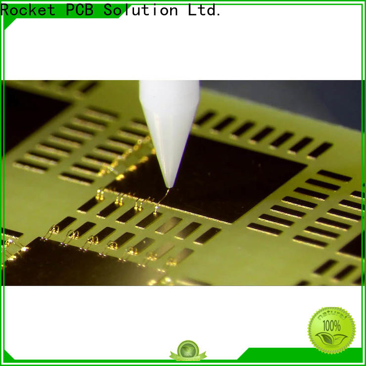 Rocket PCB wire wire bonding bulk fabrication for automotive