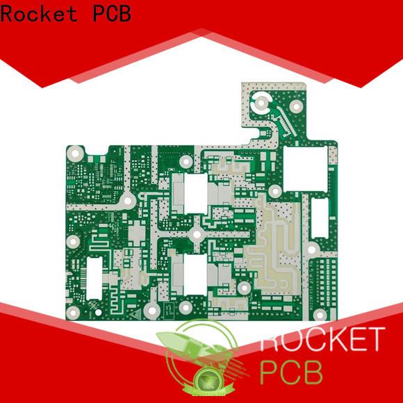 Rocket PCB high speed microwave PCB production bulk production instrumentation