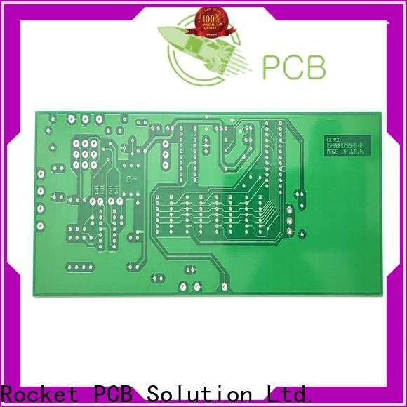 Rocket PCB custom single sided printed circuit board turn around electronics