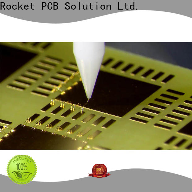 Rocket PCB finished aluminum wire bonding process bulk fabrication for digital device