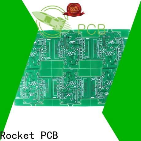 Rocket PCB double single sided circuit board volume digital device