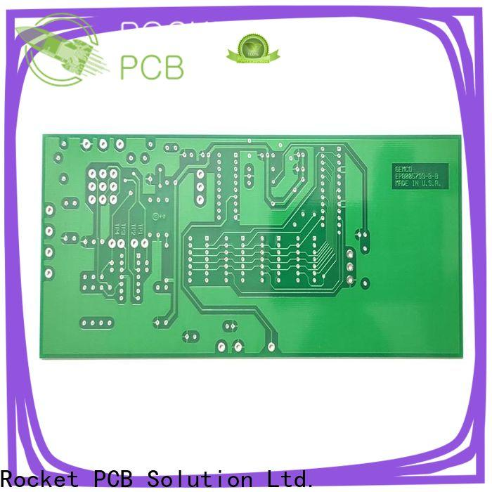 Rocket PCB single sided circuit board turn around consumer security