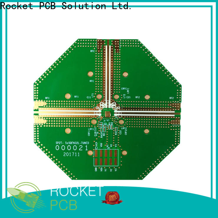 Rocket PCB material pcb production for digital product