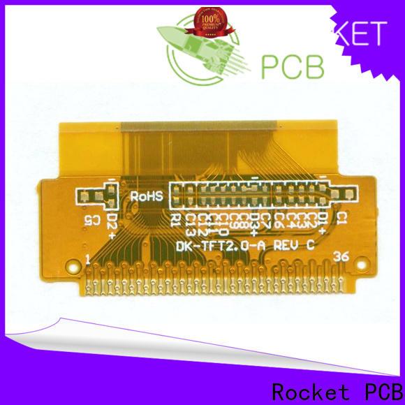 Rocket PCB multilayer flex pcb cover-lay medical electronics