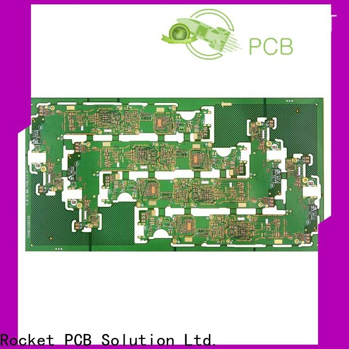 Rocket PCB stagger double layer pcb layer
