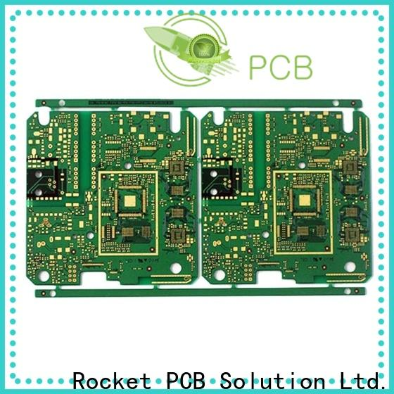 Rocket PCB stacked dual layer pcb precision for wholesale