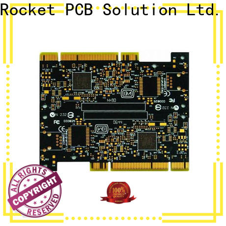 Rocket PCB plated motherboard pcb edge for import