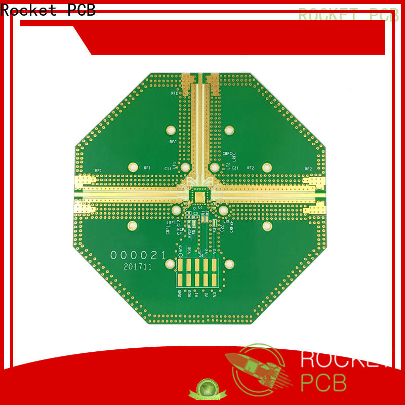 mixed high frequency pcb board hybrid production for digital product