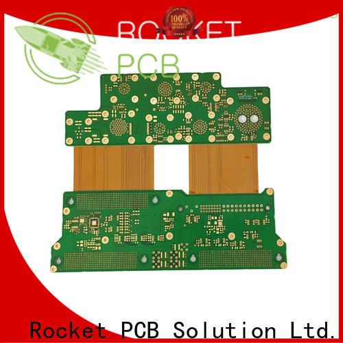 Rocket PCB flexible rigid flex circuit boards top selling for instrumentation