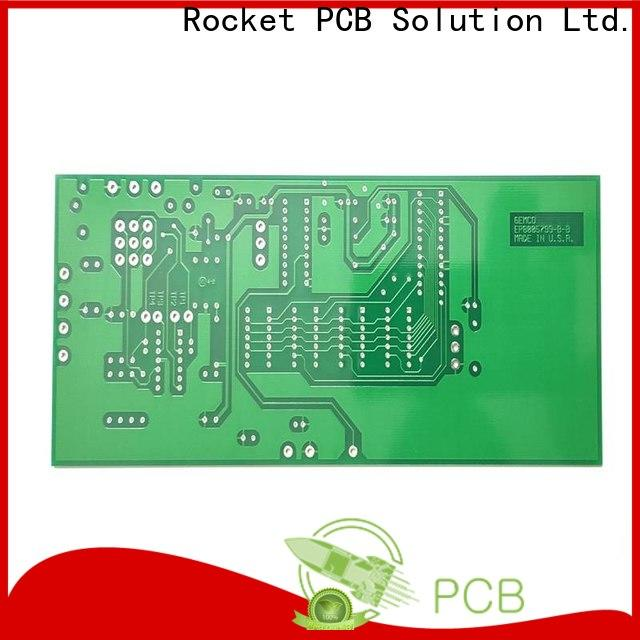 Rocket PCB double single sided circuit board turn around consumer security