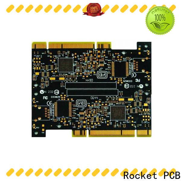 Rocket PCB professional gold column edge for import