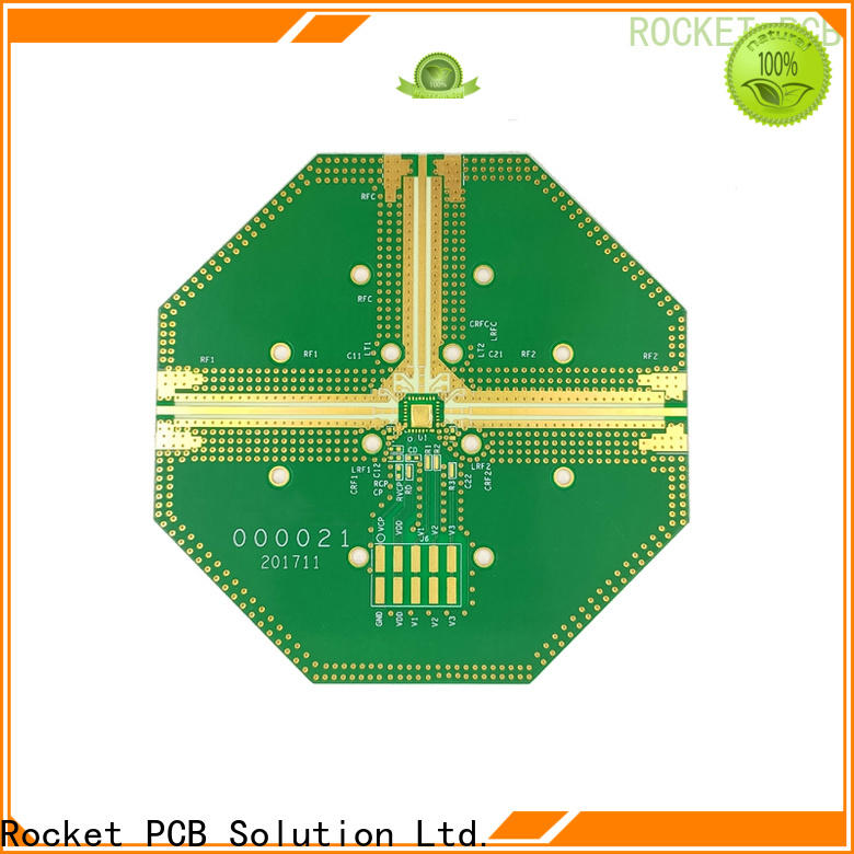 Rocket PCB structure rf applications rogers for electronics
