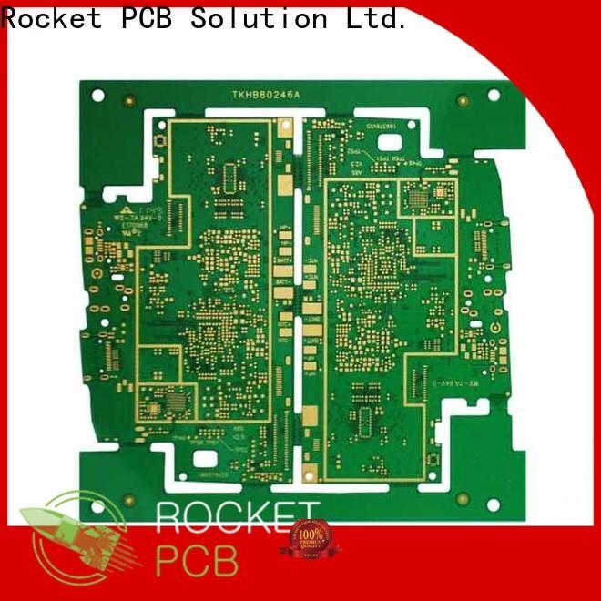 Rocket PCB board fr4 pcb prototype interior electronics
