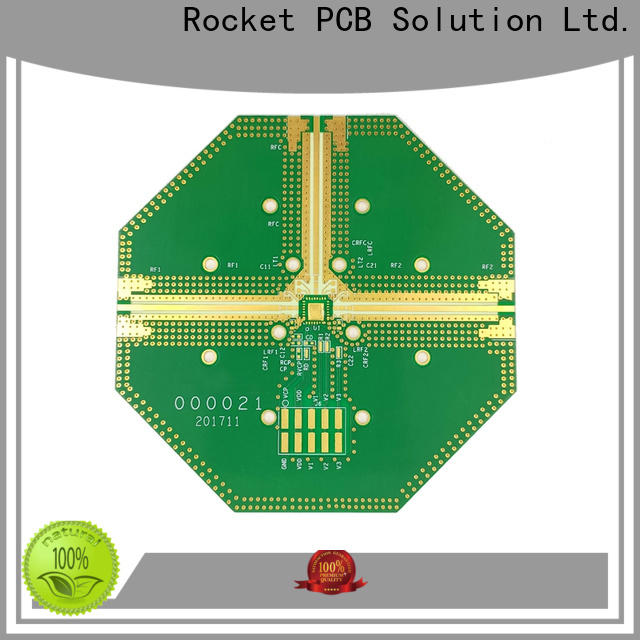 Rocket PCB frequency material pcb production for digital product