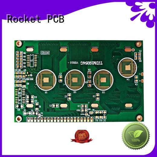Rocket PCB top brand wire bonding bulk fabrication for electronics