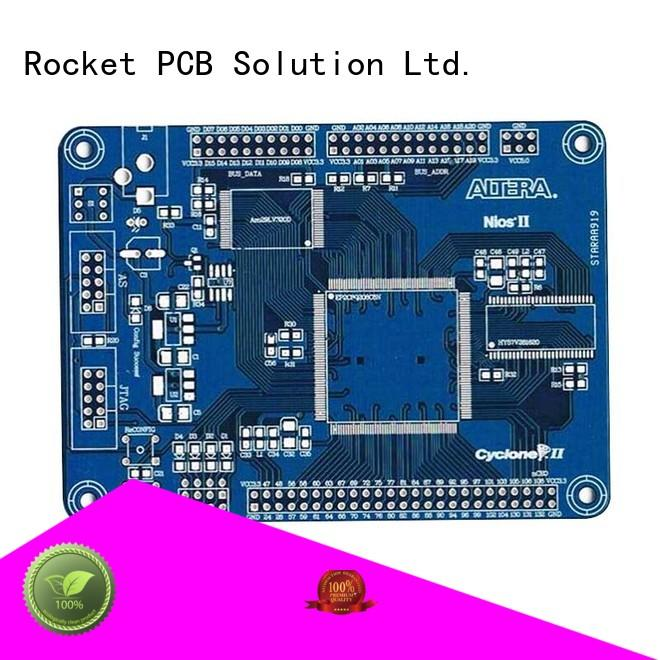 Rocket PCB double sided pcb board turn around digital device