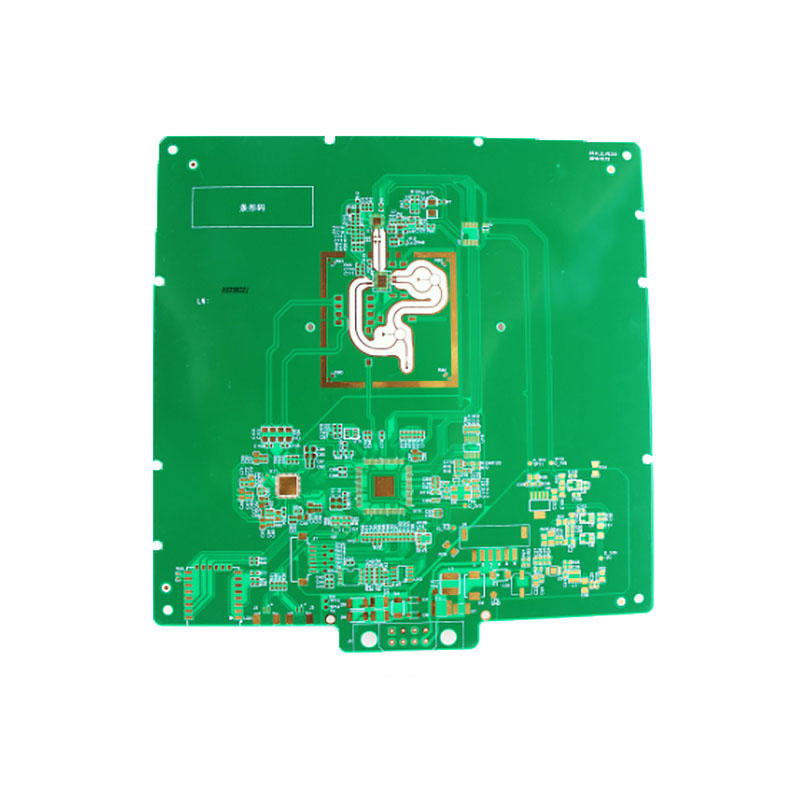 Hybrid PCB Mixed structure PCB and rogers pcb rogers4350+FR4-2