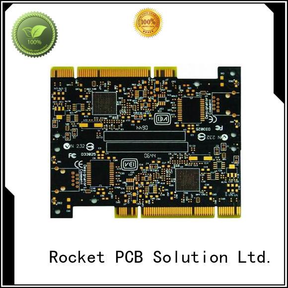 Rocket PCB popular gold bonding finger pcb staged for import