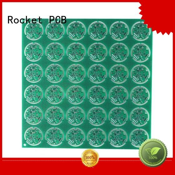 quick double sided printed circuit board turn around consumer security Rocket PCB