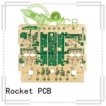Rocket PCB Brand process hybrid rfmicrowave microwave pcb
