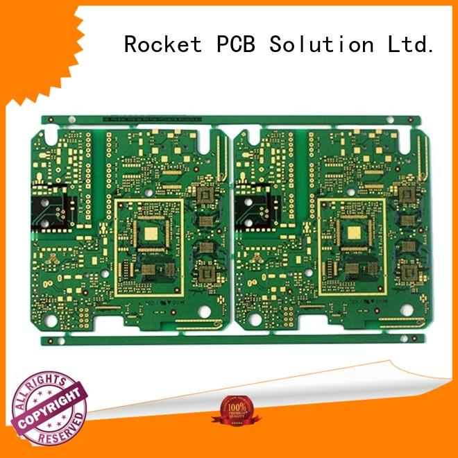Rocket PCB stagger double layer pcb