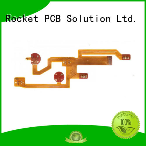 Rocket PCB multilayer flexible circuit board cover-lay medical electronics