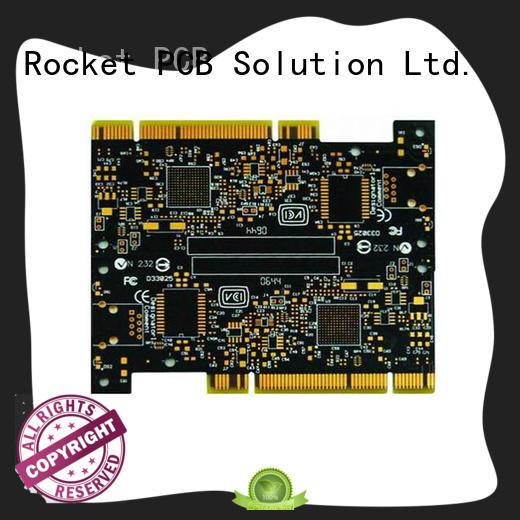Rocket PCB professional golden finger pcb plating for import