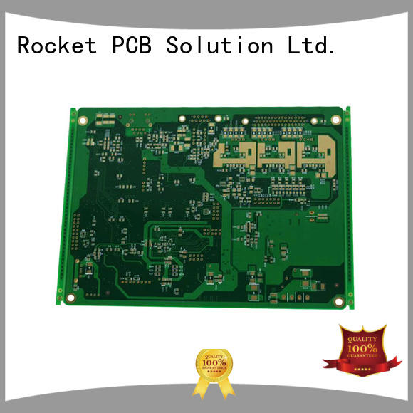 custom pcb board conductor electronic Rocket PCB