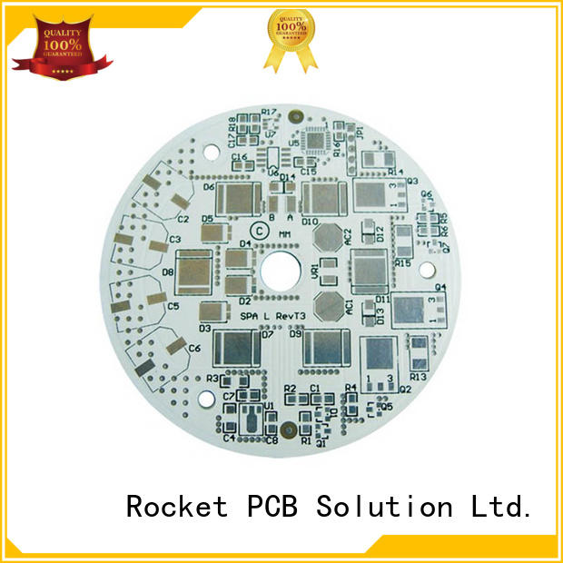 Rocket PCB custom aluminum pcb board control for equipment