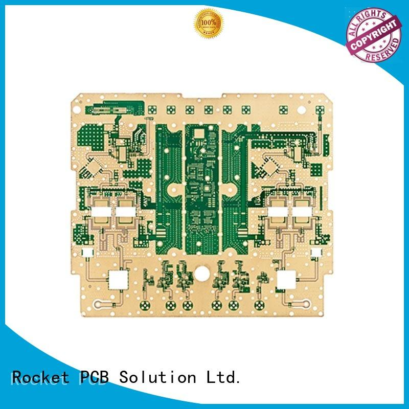 microwave circuit board pcb instrumentation Rocket PCB
