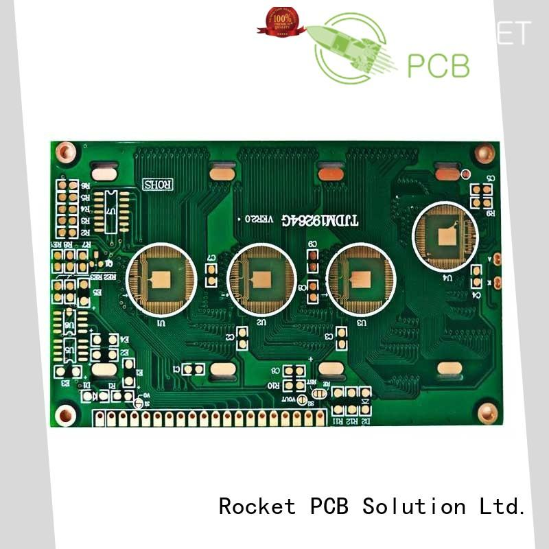 wholesale simple pcb board bulk fabrication for electronics Rocket PCB