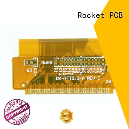 coverlay flexible circuit board medical electronics Rocket PCB