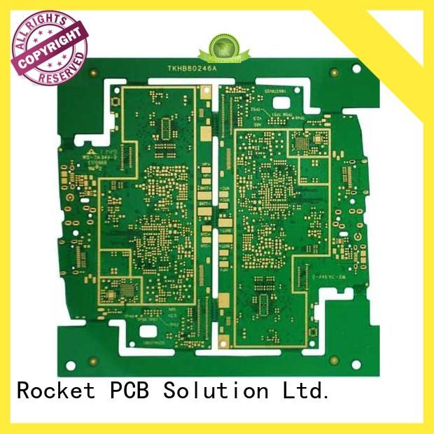 Rocket PCB manufacturing pcb hdi density interior electronics