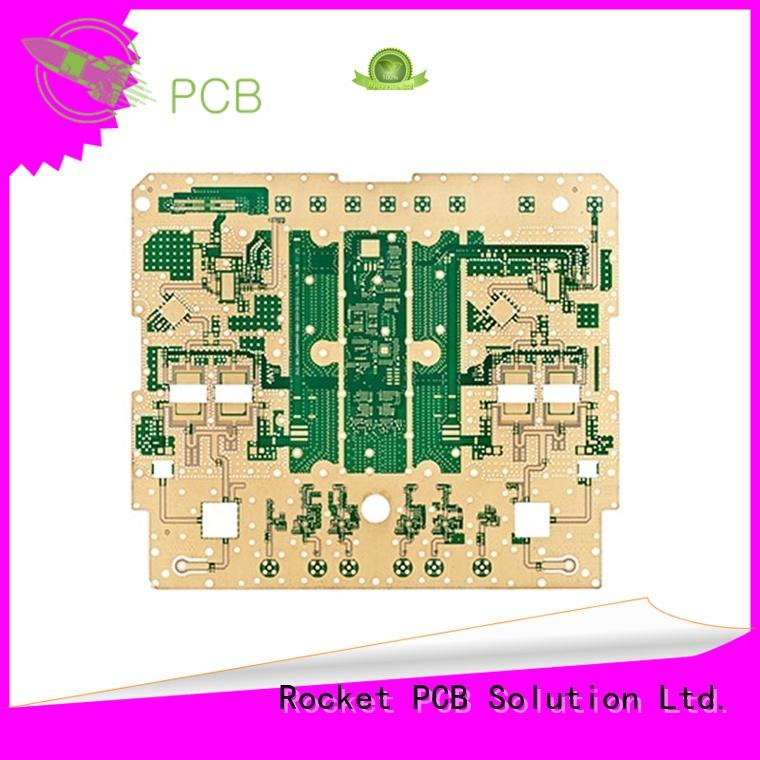 Rocket PCB micro-wave RF PCB production factory price for automotive