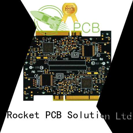 Rocket PCB optional gold column finger for import