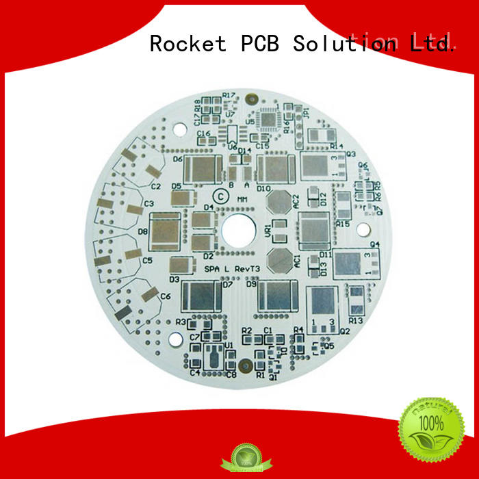 Rocket PCB popular led pcb light-weight for equipment