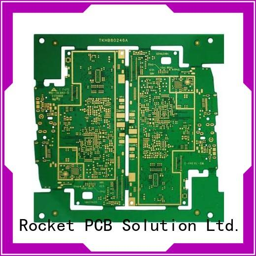 Rocket PCB any layer hdi pcb laser hole wide usage