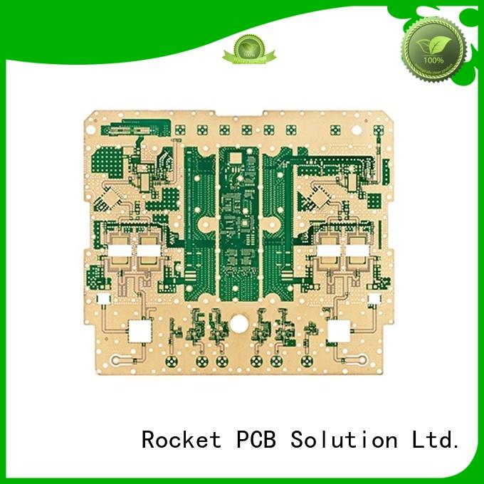 Rocket PCB hybrid RF PCB production hot-sale industrial usage