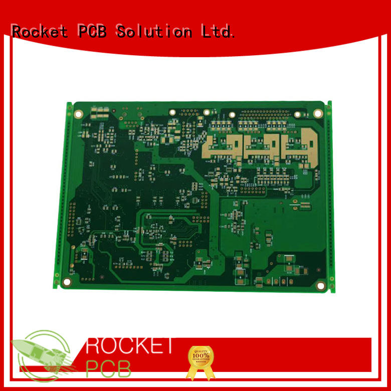 Rocket PCB thick pcb copper coin power board for digital product