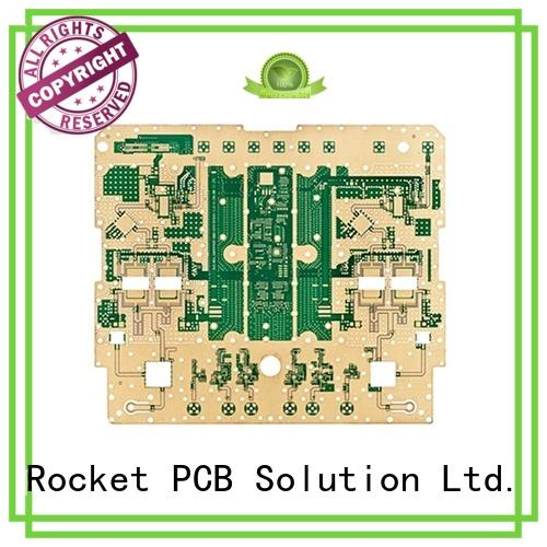 microwave pcb board instrumentation Rocket PCB