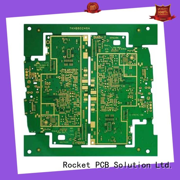 Rocket PCB pcb fabrication laser hole interior electronics
