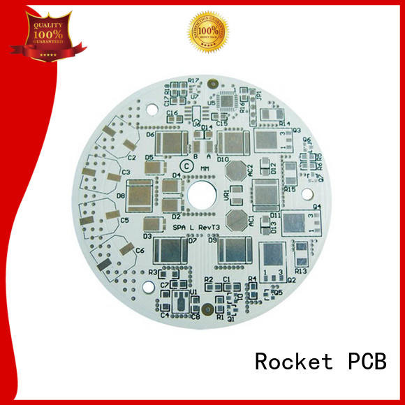 Rocket PCB board led pcb light-weight for digital products