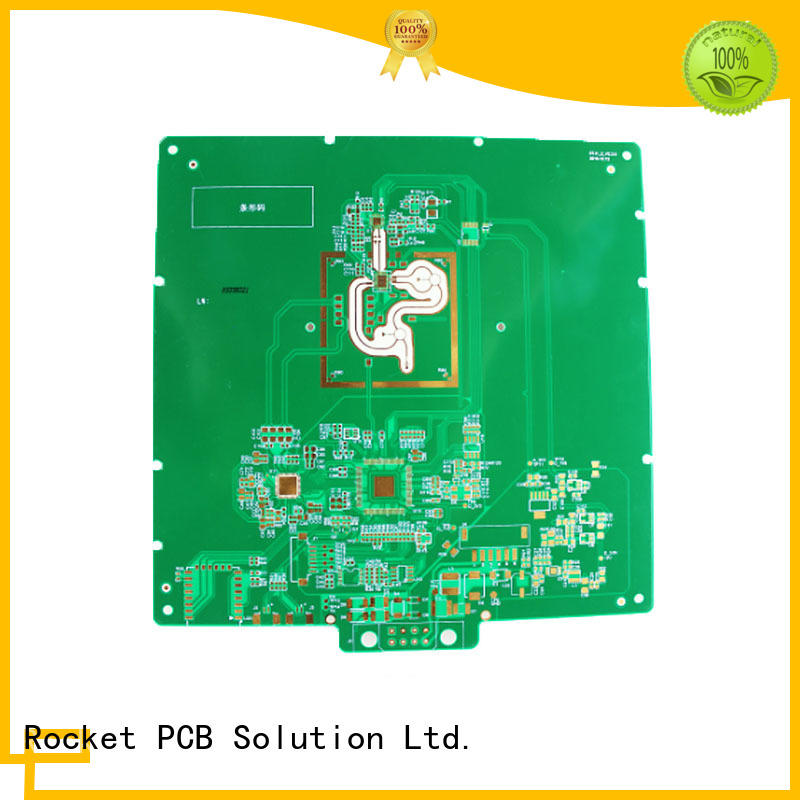 mixed rf applications structure for electronics Rocket PCB